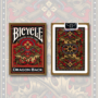 Bicycle Dragon Back Deck, Gold by USPCC